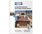 "Printing Product Design Leaflet ""DoorHan Garage Sectional doors RSD01"""