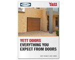 Printing Product Design Yett sectional  garage doors